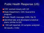 public health response us