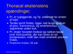 thoracal ekstensions sp ndinger