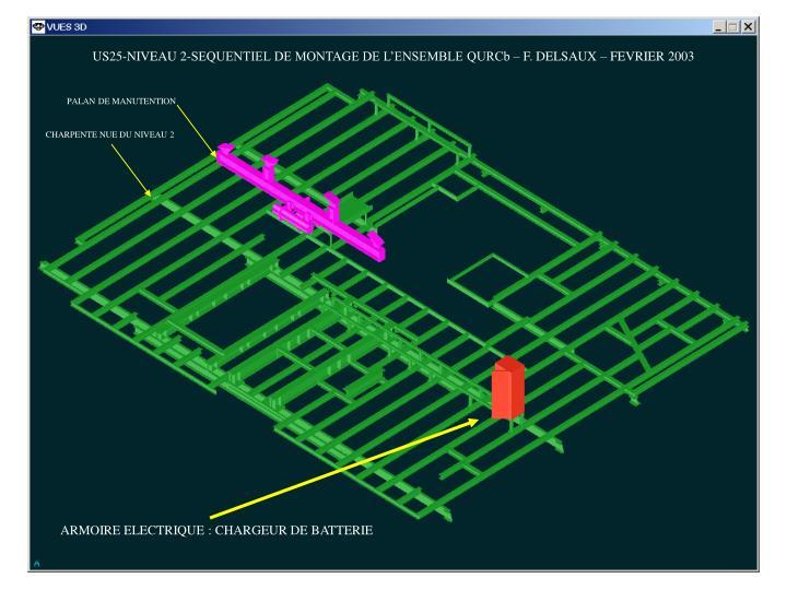 us25 niveau 2 sequentiel de montage de l ensemble qurcb f delsaux fevrier 2003 n.