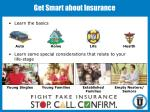 get smart about insurance