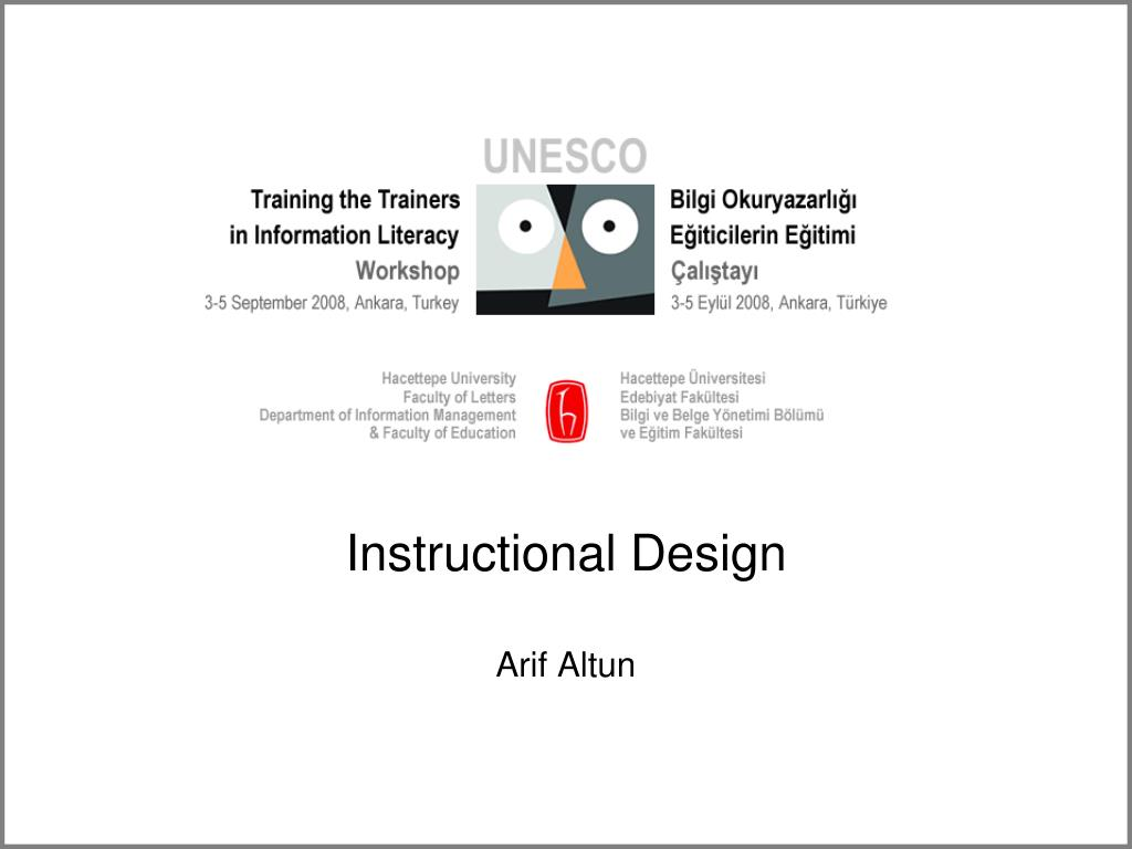 instructional design l.