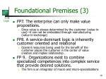 foundational premises 3