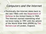 computers and the internet39