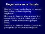 hegemon a en la historia