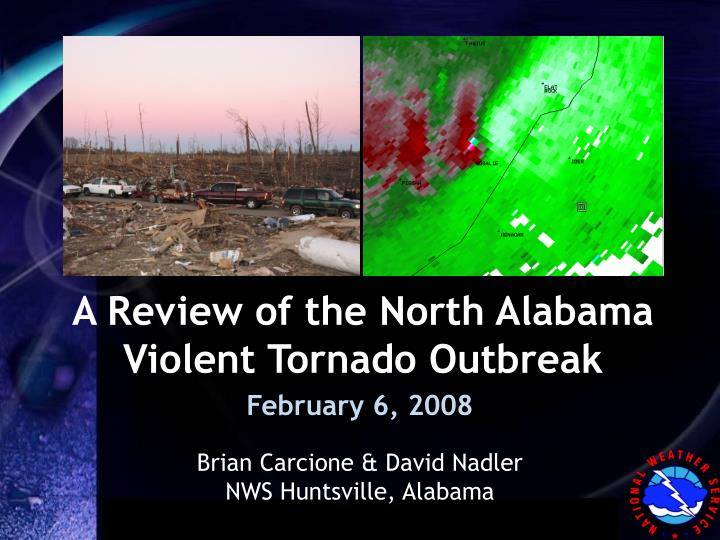a review of the north alabama violent tornado outbreak n.
