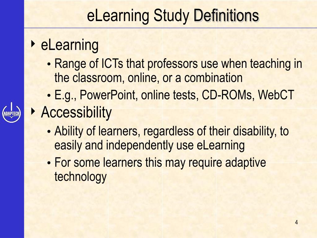 eLearning Study