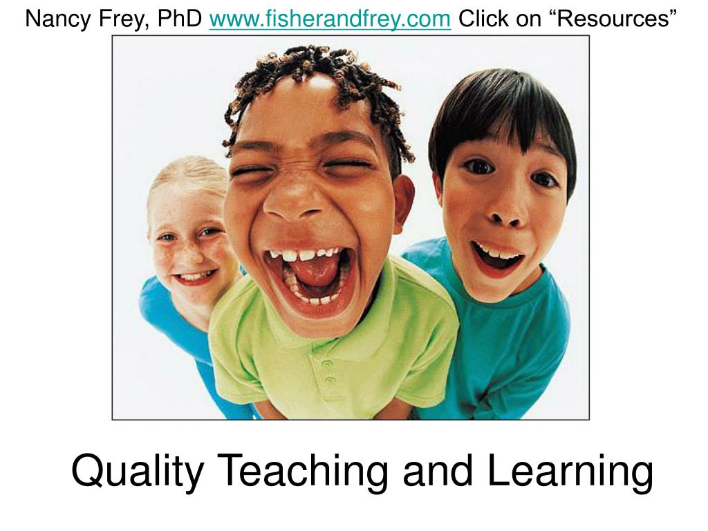 quality teaching and learning l.