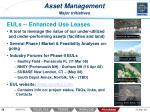 asset management major initiatives26
