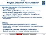 energy project execution accountability