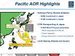 pacific aor highlights