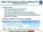 walter reed national military medical ctr wrnmmc bethesda md