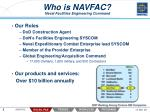 who is navfac naval facilities engineering command