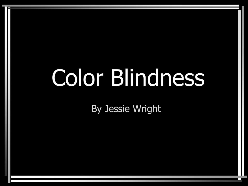 color blindness l.