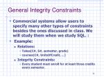 general integrity constraints