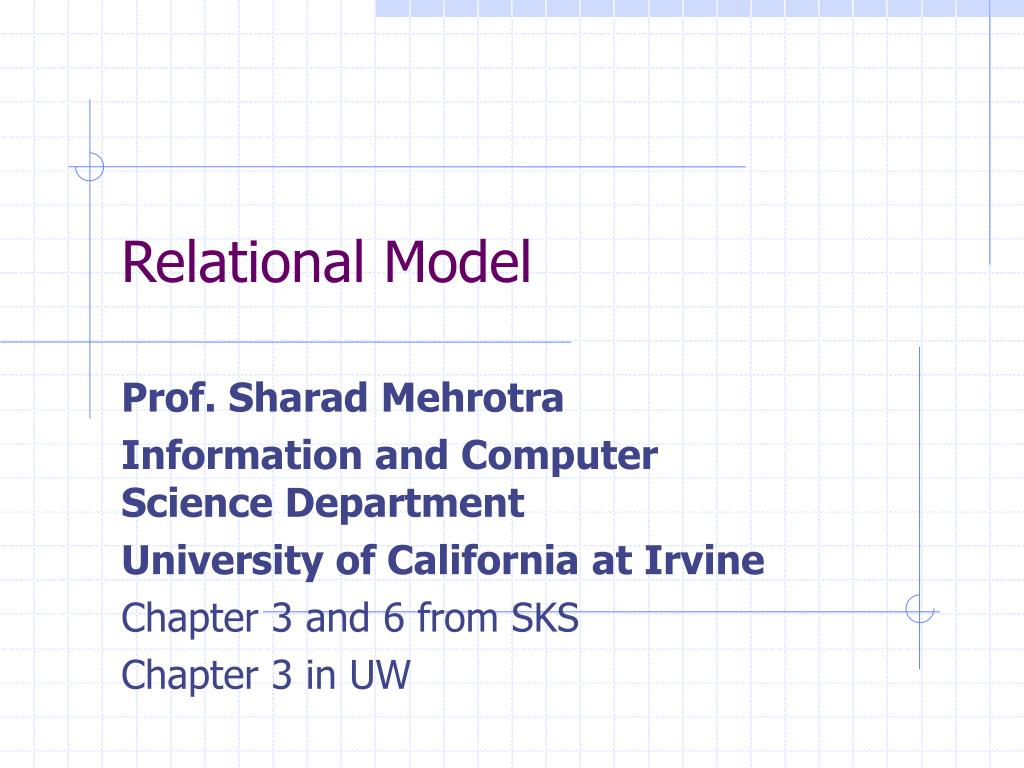 relational model l.