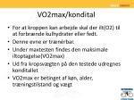 vo2max kondital