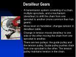 derailleur gears