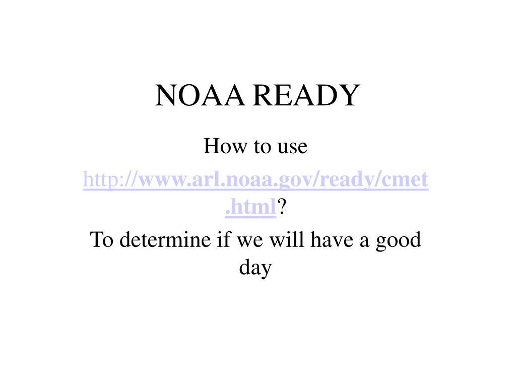 noaa ready l.