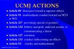 ucmj actions
