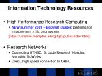 information technology resources