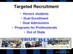 targeted recruitment