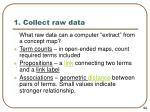 1 collect raw data