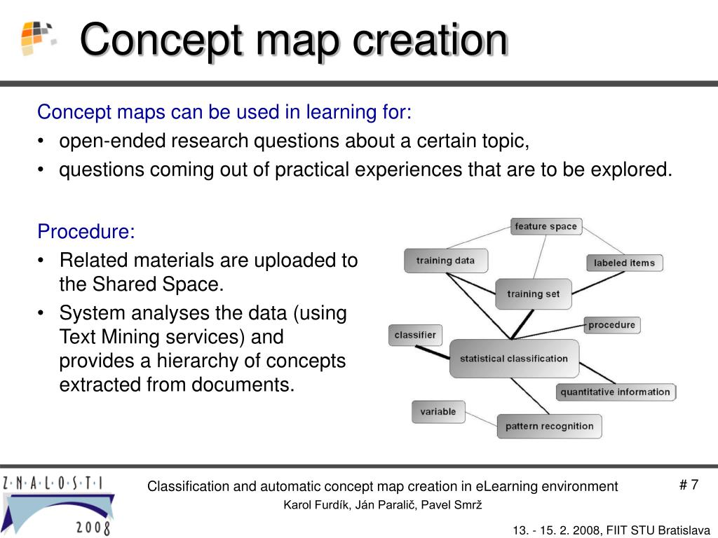 Concept map creation