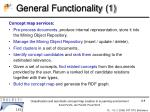 general functionality 1