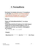3 normalform