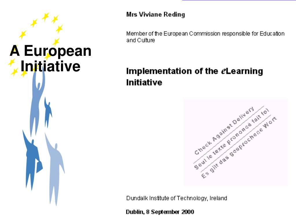 A European Initiative