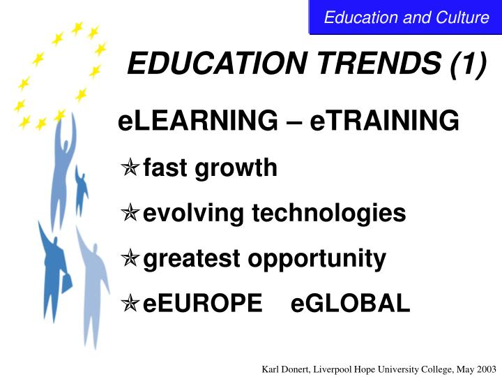 Education trends 1