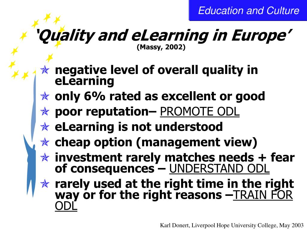 'Quality and eLearning in Europe'