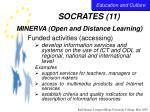 socrates 11