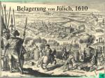 belagerung von j lich 1610