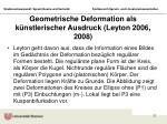 geometrische deformation als k nstlerischer ausdruck leyton 2006 2008