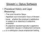 silvestri v optus software10