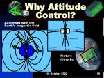 why attitude control