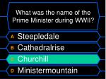 what was the name of the prime minister during wwii4