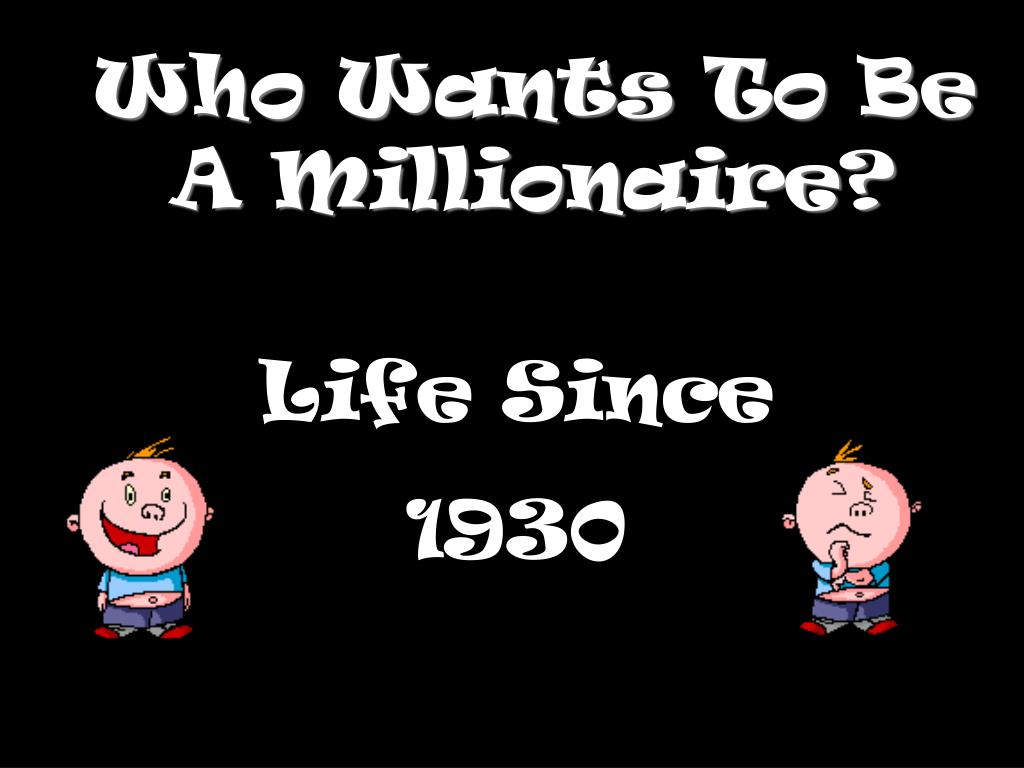 who wants to be a millionaire l.
