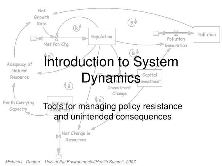 introduction to system dynamics n.