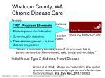 whatcom county wa chronic disease care