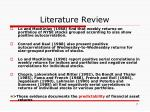 literature review7
