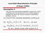 local risk neutralization principle of duan 1995