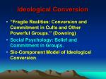 ideological conversion