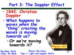 part 3 the doppler effect