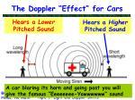 the doppler effect for cars