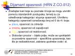 dijamant opasnosti hrn z co 0121