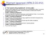 dijamant opasnosti hrn z co 0123