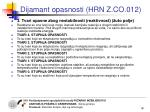 dijamant opasnosti hrn z co 0124