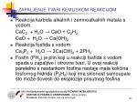 zapaljenje tvari kemijskom reakcijom2